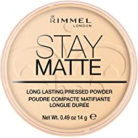 Rimmel London, Stay Matte Pressed Powder, Shade 001, Transparent