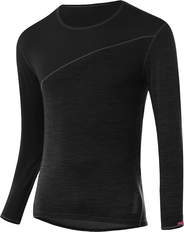 L/ÖFFLER Herren M Shirt L//S Transtex Merino Unterhemd