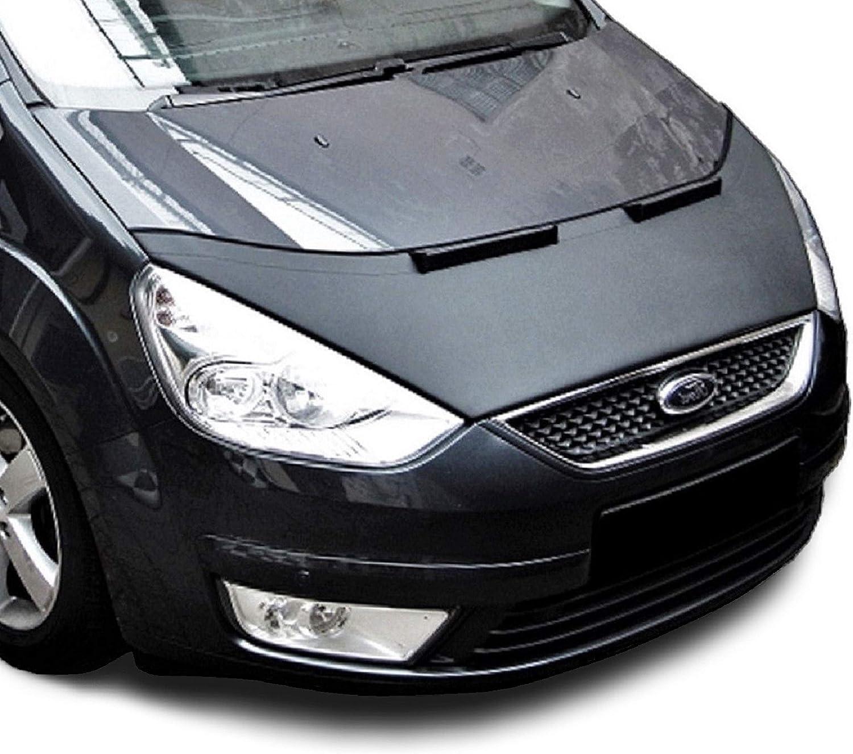 Protezione Cofano S MAX Galaxy Copertura Cofano Car Bra Auto NERO Front Maschera Bonnet Tuning