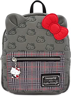HELLO SANRIO LOUNGEFLY BUCKET BAG PURSE TOTE  w// SHOULDER STRAP AUTHENTIC NEW