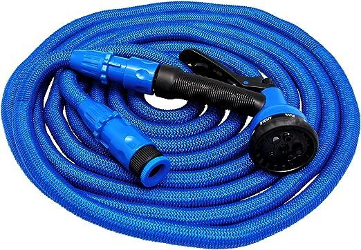 Xpansy Hose Pro C2615B Manguera Extensible con la Presión del Agua, Azul, 15 metros: Amazon.es: Jardín