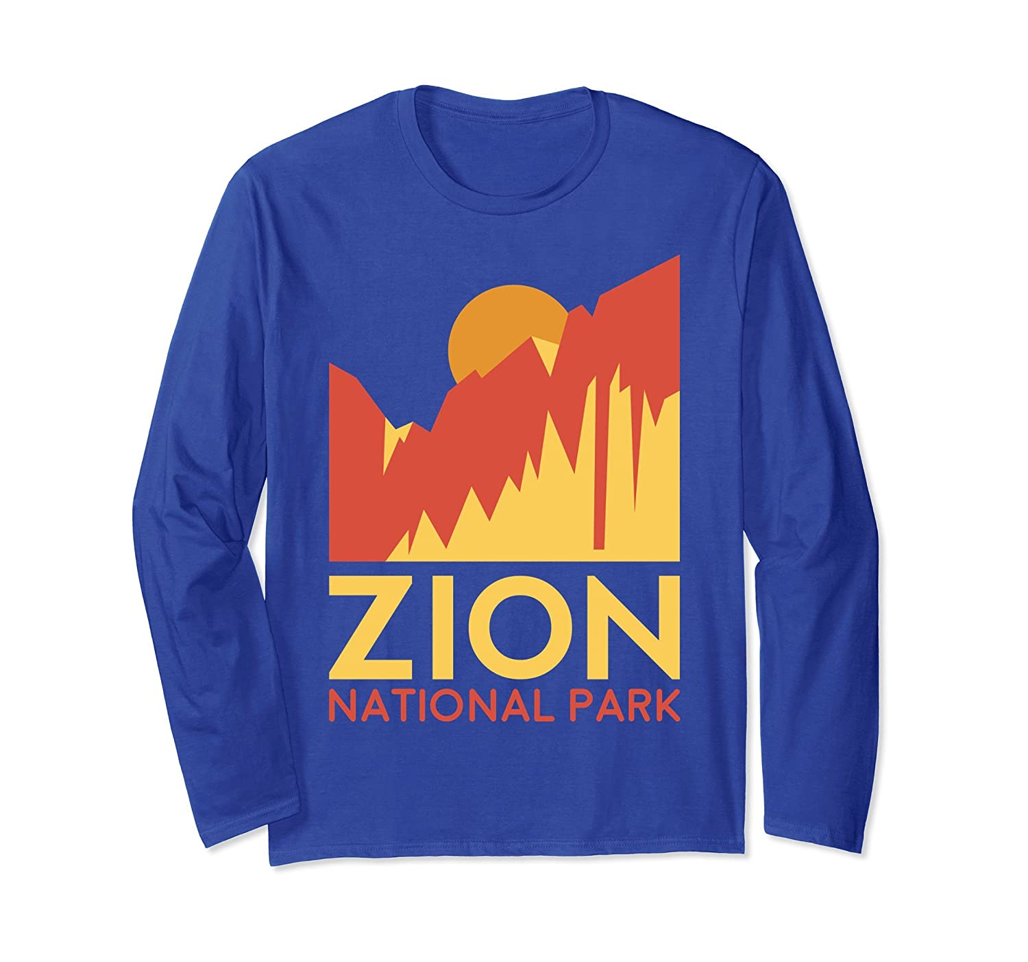 Zion National Park Long Sleeve Shirt -Outdoor Camping Hiking-TH
