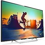 """Philips 6000 series 4K Ultra-Slim Smart LED TV 65PUS6162/12 - LED TVs (165.1 cm (65""""), 3840 x 2160 pixels, LED, Smart TV, Wi-Fi, Black)"""