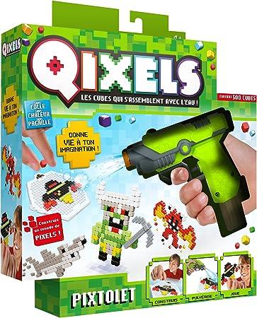 Pixtolet Qixels Asmokids Loisirs Creatifs Garcons Amazon Fr Jeux Et Jouets