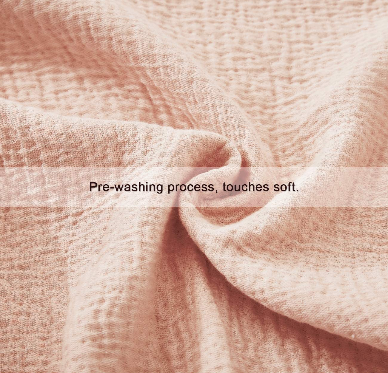 Soft Skin-Friendly Breathable and Lightweight Perfect for Home Decoration Couch Bed Sofa for All Season Dark Grey PHF 100/% Cotton 4 Layer Adult Muslin Blanket Twin Size 66 x 90