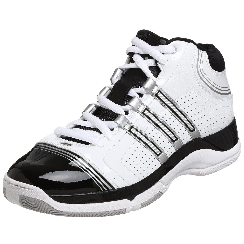 1033e790aa719 Adidas Men's Supercush 3 Basketball Shoe, White/Silver/Black, 15 M ...