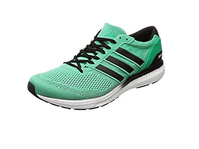 adidas Men's Adizero Boston 6 M Running Shoes, Multicolor (Hi-Res Green S18