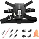 Kitway Dog Harness Chest Mount for Go Pro HERO 5 Black GoPro HERO 4 Silver GoPro HERO 3+,3,2 and SJ4000 SJ5000 SJ6000 Sports Camera Accessories Kit