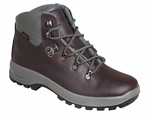 Grisport Hurricane Womens Waterproof Walking Boots Burgundy