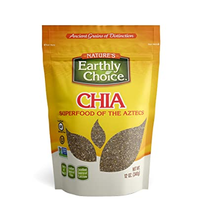 Natures Earthly Choice - Semillas de chia (12 onzas ...