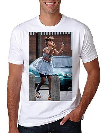 0f613034 LuckyTshirt Rihanna T Shirt Celine Paris Wasted New Swag Unisex Tour Kanye  Top Anti Music Tee Yeezus Jay Drake Fresh Savage: Amazon.co.uk: Clothing