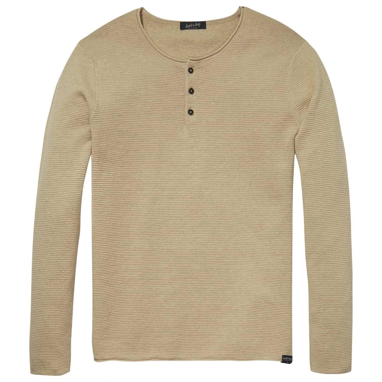 Cashmere Pullover Scotch Cotton Pull Soda Homme Amazon Grandad amp; qwXtnzxBX4