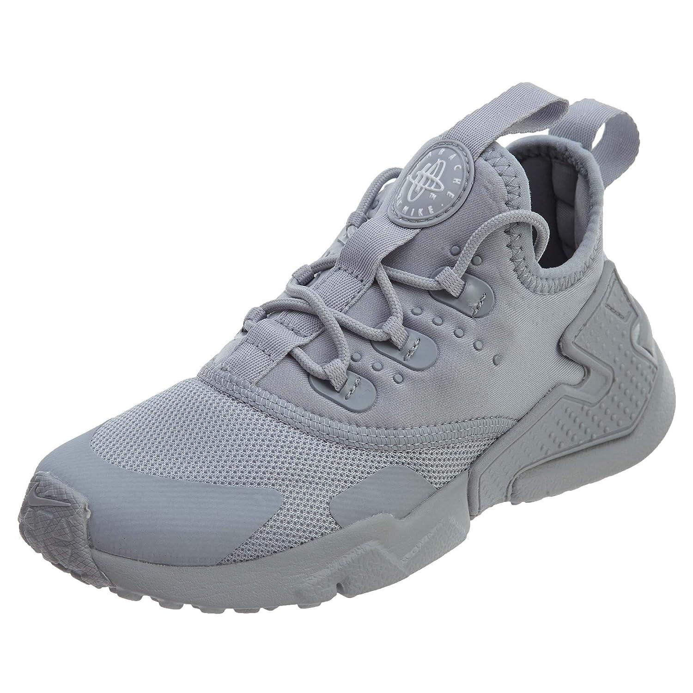 nike huarache wolf grey white