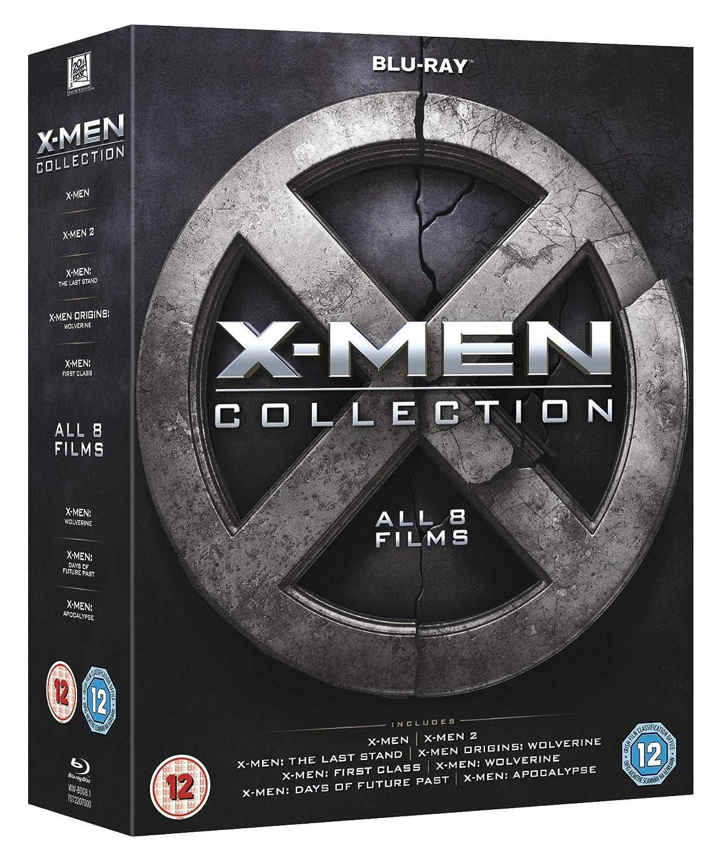 X-Men Collection Edizione: Regno Unito Reino Unido Blu-ray ...