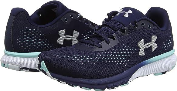 Under Armour UA W Charged Spark, Zapatillas de Running para Mujer, Azul (Midnight Navy/Blue Infinity/Metallic Silver), 40 EU: Amazon.es: Zapatos y complementos