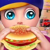 My Fast Food Truck Park Cooking Game - cooking fever - cooking madness - cooking craze - Street Food Truck Festival - Cook and Serve up delicious food to your customers with this fun game