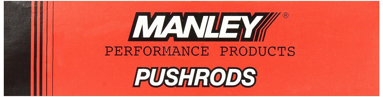 Manley 3//8 Diameter x 10.000 Long Chrome Moly Pushrod 25906-8