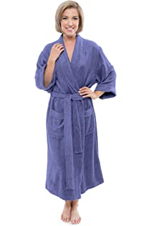 Women s Luxury Terry Cloth Bathrobe - Bamboo Viscose Robe by Texere  (Ecovaganza) deaaf1601