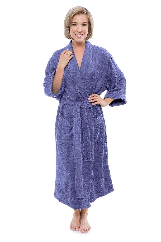 7f85758d96ec4 Women s Luxury Terry Cloth Bathrobe - Bamboo Viscose Robe by Texere  (Ecovaganza)