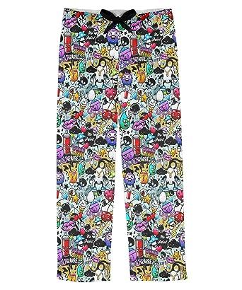 RNK Shops Graffiti Mens Pajama Pants (Personalized) at Amazon Men s ... bdba551c6