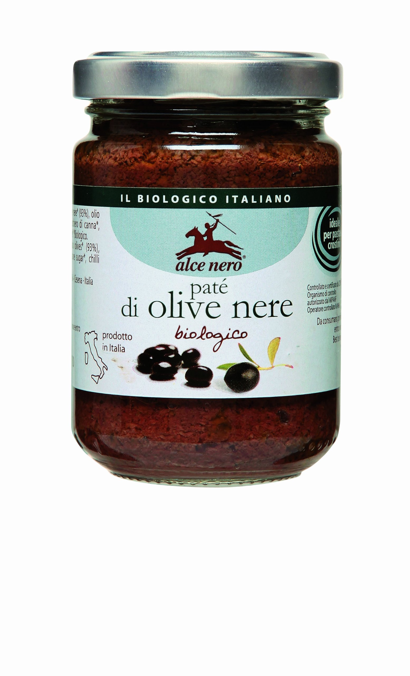 Organic Black Olive putty paste