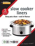 Toastabags Slow Cooker Liner, Transparent, Pack of 25