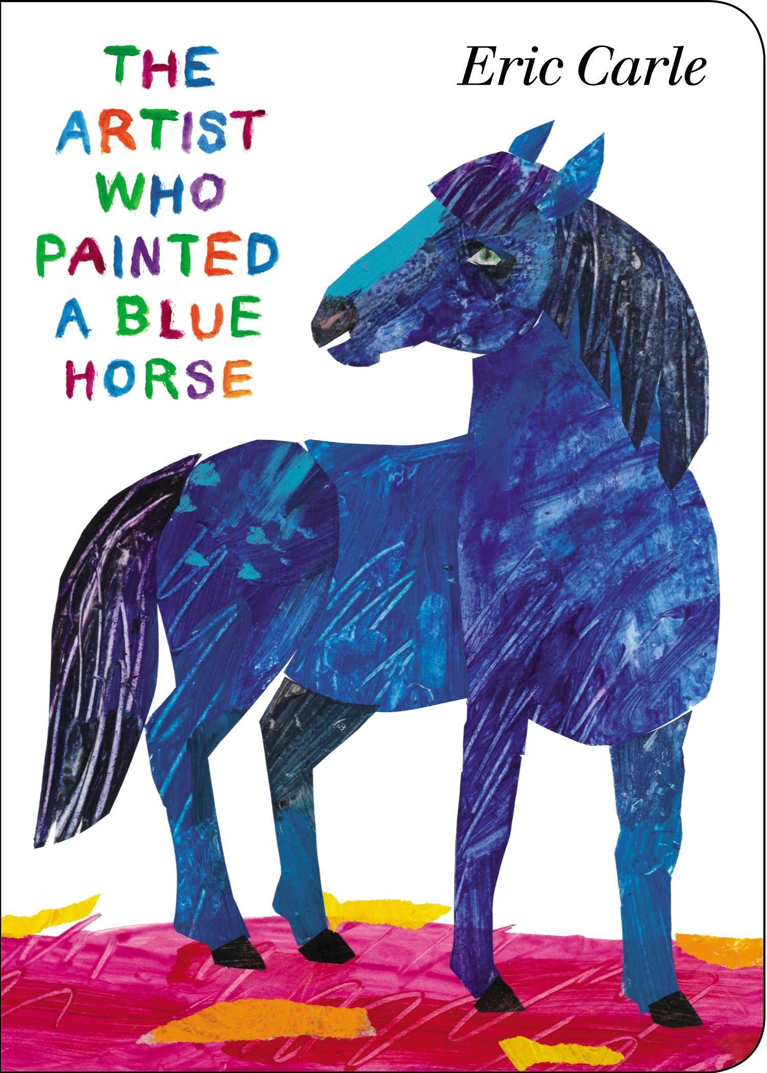 Download The Artist Who Painted a Blue Horse pdf epub
