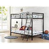 Amazon Price History for:Zinus Easy Assembly Quick Lock Twin over Twin Metal Bunk Bed / Quick to Assemble in Under an Hour