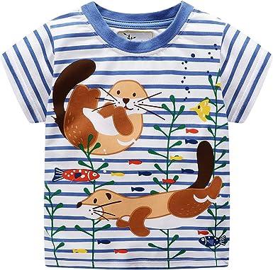 Bebé niña bordado ardilla algodón a cuadros camisa manga ...