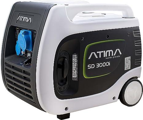 Atima SD 3000i RV Generador Inversor Portátil Sensible 3000W Caravan Camping Potencia Gas