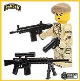 Premium Limited Edition US Army Ranger Minifigure - Custom Brick Builder Minifigure by CombatBrick