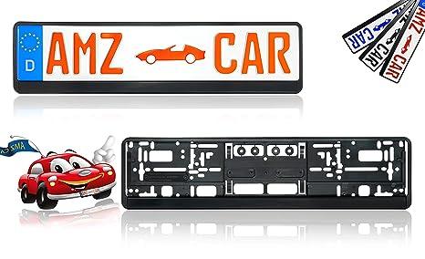 Für Audi 2x Simple Fix Nummernschildhalter Kennzeichen Halter Träger KFZ PKW