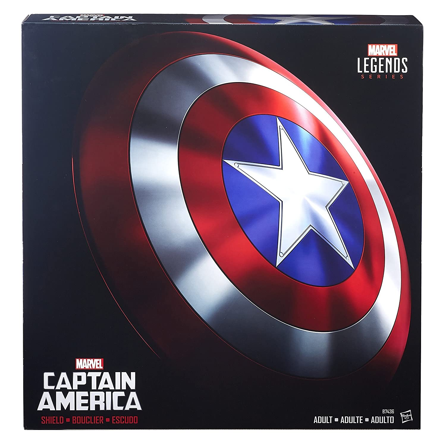 9ea3b07b820 Buy Avengers Marvel Legends Captain America Shield Online at Low Prices in  India - Amazon.in
