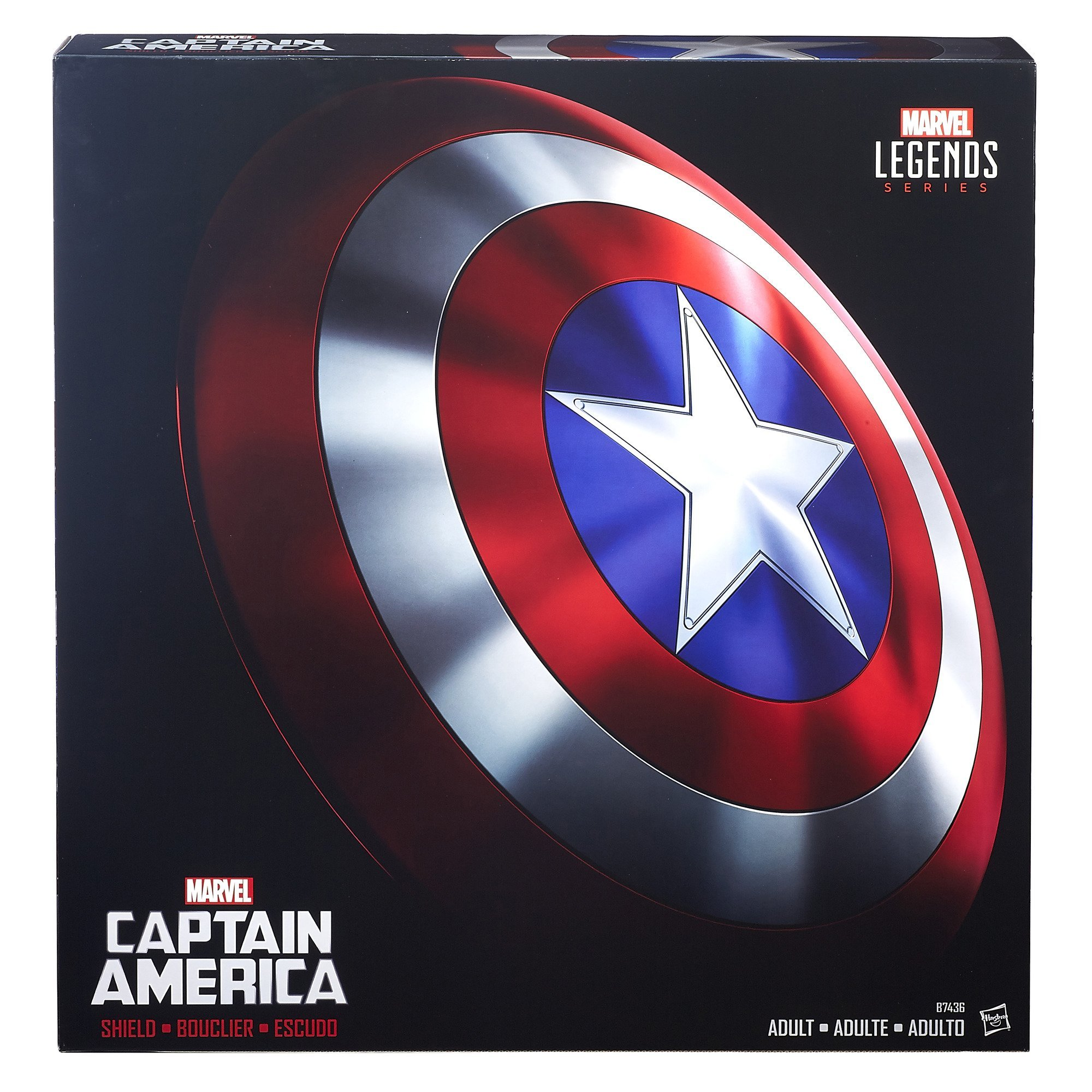 Marvel Legends Captain America Shield by Avengers (Image #2)
