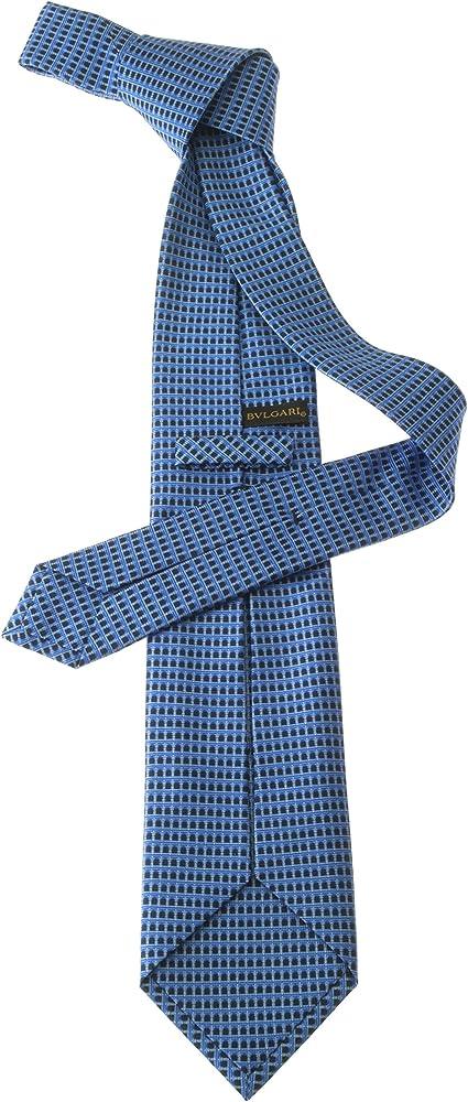 Bulgari - Corbata - para hombre Azul azul eléctrico Talla única ...