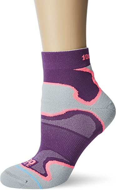 1000 Mile Fusion Sport Womens Anklet Socks AW19