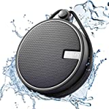INSMY Portable Shower Speaker, IPX7 Waterproof Wireless Ourdoor Speaker with HD Sound, Support TF Card, Suction Cup for…