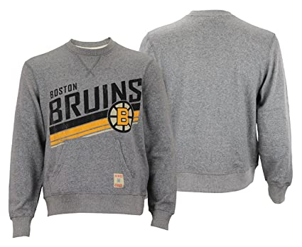 more photos 243c4 75f11 Amazon.com : CCM NHL Men's Boston Bruins Classic Wash Fleece ...
