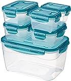 AmazonBasics 6pc Airtight Food Storage Set