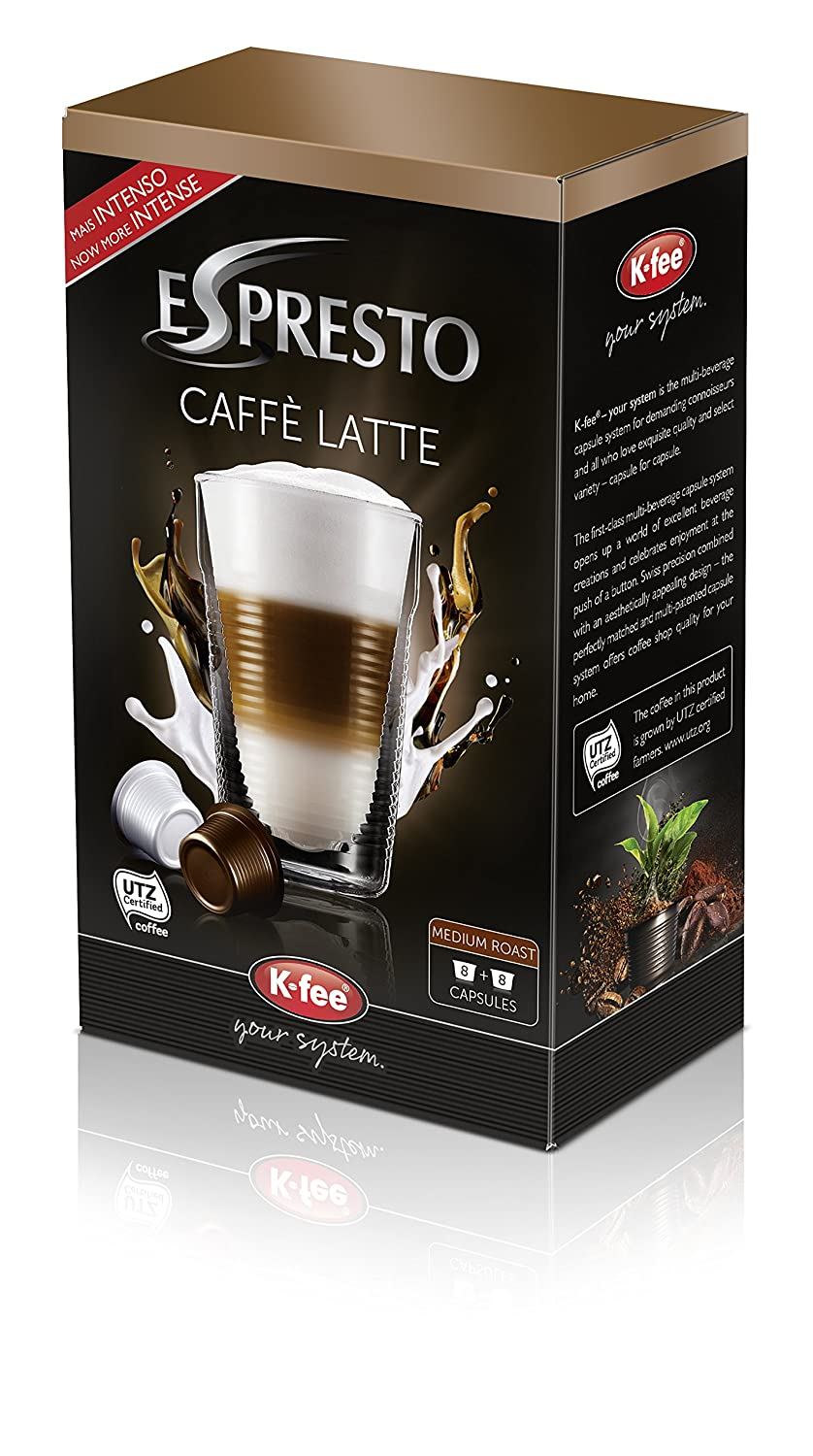 Espresto Caffè Latte Pack Of 6 X 142 G