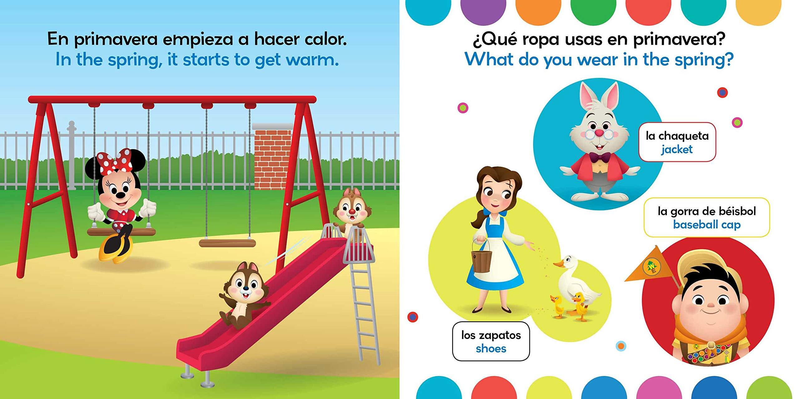 Amazon.com: Rain or Shine / Lluvia o sol (English-Spanish) (Disney Baby) (Disney Bilingual) (9781499807936): Stevie Stack, Laura Collado Piriz: Books