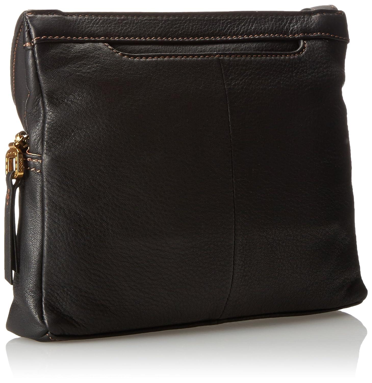 HOBO dam supermjuk cassie Crossbody handväska, svart supermjuk, en storlek svart