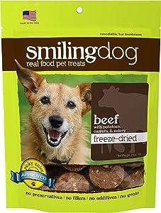 Herbsmith Smiling Dog Treats – Gluten, Grain Free – Made in US