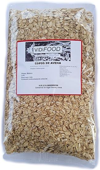Copos de avena - 1 kg - Rica en nutrientes, vitaminas y minerales ...