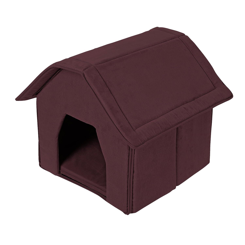 TLW direkt Cuccia per cani casa Leo Marrone 56x 49x 40cm kuschel capanna casa Cuccia per cani e gatti