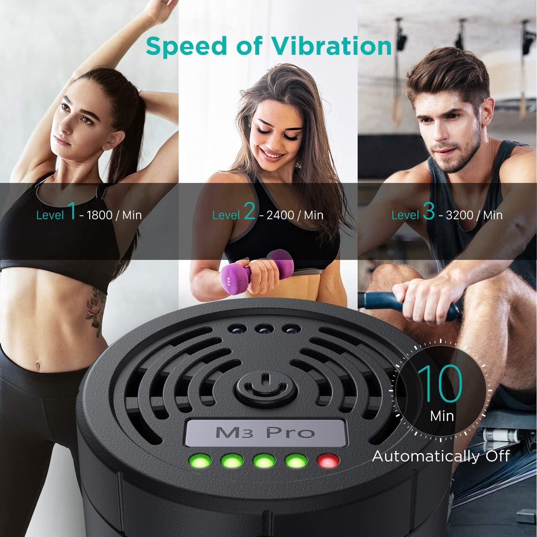 Massagegerät mit 3 einstellbare Geschwindigkeitsstufen