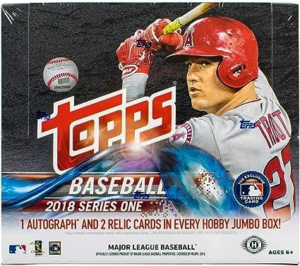 Topps 2018 Series 1 Silver Baseball Pack