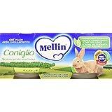 Mellin Omogeneizzato Coniglio - 24 Vasetti da 80 gr