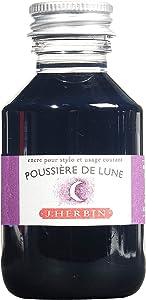 J. Herbin Fountain Pen Ink - 100 ml Bottled - Poussiere de Lune
