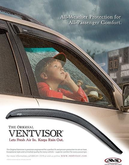 94744 fits 03-08 Honda Pilot Deflector 4 pc R Side Window Vent-Ventvisor